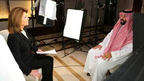 I et intervju med CBS-programmet «60 Minutes» advarte Saudi Arabias kronprins Mohammed bin Salman om utenkelig høye oljepriser hvis verden ikke står sammen mot Iran.