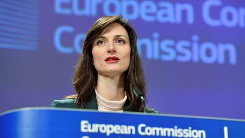 EUs digitaliseringskommissær Mariya Gabriel mener det går mot et mer rettferdig digitalt EU.