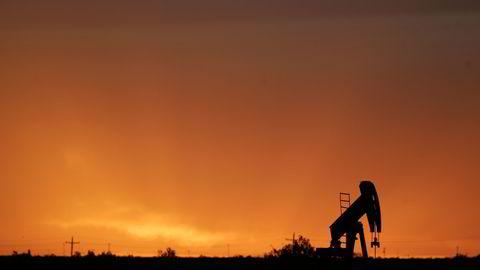 Oljeprisen vår på årets sterkeste nivåer mandag. FOTO: Jessica Rinaldi/REUTERS/NTB SCANPIX.