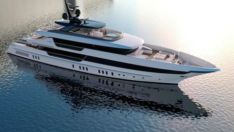 Sanlorenzos 52 meter lange superyacht i stål, som har plass til et mannskap på ni og 10–12 gjester, blir nå for første gang markedsført i Norge.