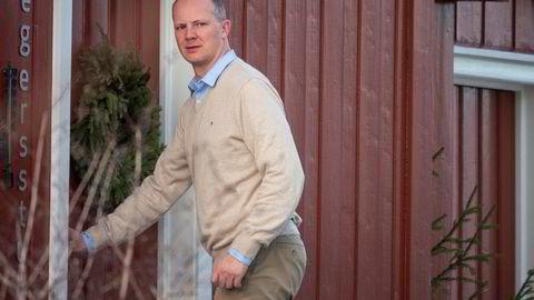Frp-nestleder Ketil Solvik-Olsen fløy hjem fra USA for å delta i regjeringsforhandlingene på Granavolden i januar.