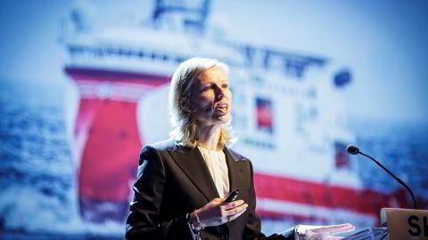 – Det kommer ikke til å bli bygget skip på mange, mange år, advarer Gunvor Ulstein som er konsernsjef i Ulstein Group.