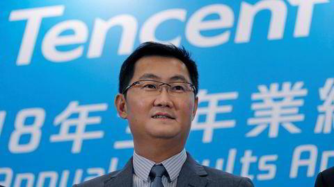 Grunnlegger og styreformann Pony Ma i det kinesiske teknologiselskapet Tencent la frem et svakt kvartalsresultat på torsdag. Selskapet havnet i en «perfekt storm» i 2018 og børsverdier på 2000 milliarder kroner forsvant. Selskapet forsøker å reise seg igjen.