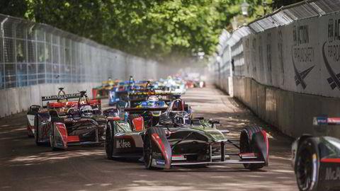 Helt grønn. Billøp er ikke blitt arrangert i Londons bykjerne på over 40 år, men grunnet Formel Es nullutslippspolitikk, har bilsporten fått innpass i den grønne lungen Battersea Park – om enn ikke uten protester fra parkens venneforening