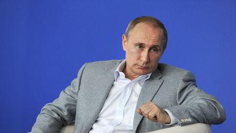 Russlands president Vladimir Putin. Foto: