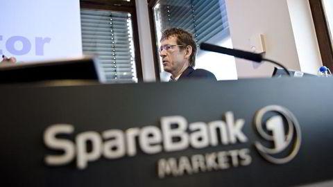 Finansdirektør Rolf Egil Bygdnes i Sparebank Nord-Norge. Foto: Fartein Rudjord