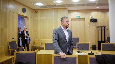Erling Løken Andersen representerer flere kunder av Bitcoins Norge. De starter nå arbeidet som til slutt kan ende i et gruppesøksmål. Her fra da han representerte tidligere Westerdals-studenter som saksøkte skolen.