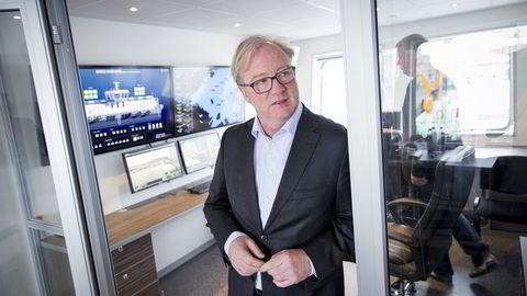 Konsernsjef Trond Williksen i Akva Group har stor tro på landbasert oppdrett. Arkivbilde. Foto: Ole Morten Melgård