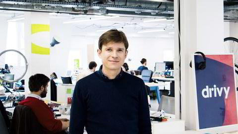 Paulin Dementhon, gründer og administrerende direktør i Drivy                                      Foto: Drivy