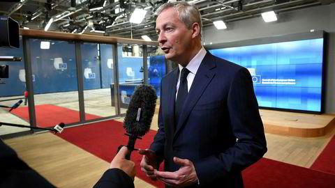 Frankrikes finansminister Bruno Le Maire mener enkeltlandene i EU må gi fra seg det siste ordet i skattepolitikken til Brussel.