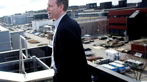 Jan Inge Røyland i Eiendomsmegler 1 i Stavanger kan begynne å smile igjen etter noen tunge år i markedet for næringseiendom.