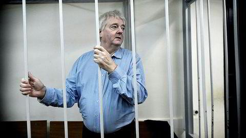 Spionsiktede Frode Berg ble i retten i Moskva dømt til 14 års fengsel