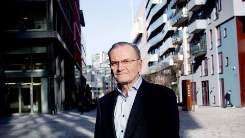 Knut Anton Mork har ledet utvalget. Foto: