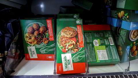 Salget av vegetarprodukter skyter i været.
