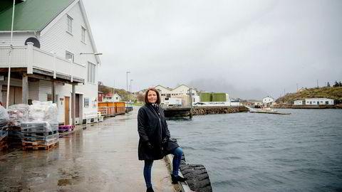 Daglig leder Line Ellingsen i Ellingsen Seafood sier at de har jobbet på spreng de siste døgnene.