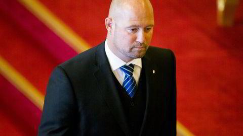ustis- og beredskapsminister Anders Anundsen (Frp).                    Foto: Vegard Wivestad Grøtt /