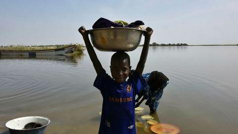 Det er en stor humanitær krisen rundt den afrikanske Tsjad-sjøen.