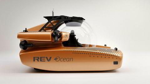 Den nye forskningsubåten til REV Ocean vil mildt sagt ha et stort vindu.