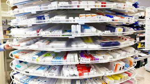 kraftig økning i Norge av medisiner som går tomme.