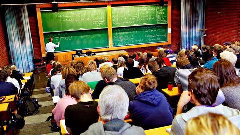 Informatikkstudenter ved Universitetet i Oslo fant hull i eksamensprogram. Foto: