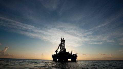Her boreriggen «Maersk Developer». Illustrasjonsfoto: Robert Seale