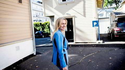 Tirsdag møtte ledelsen i Innovasjon Norge ansatte vedrørende ansettelsen av Ferd-arving Katharina G. Andresen. Nå beklager selskapet feil i ansettelsesprosessen, som toppsjef Anita Krohn Traaseth har sagt at hun ikke kjente til. Foto: