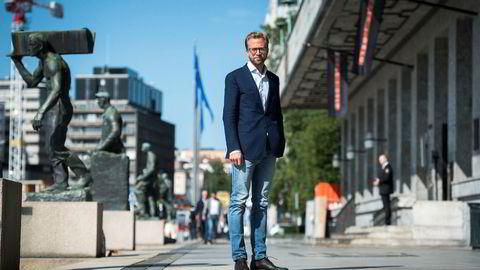 Nikolai Astrup sier målingen om at de fleste er fornøyd med dagens skattenivå er en støtte til regjeringens politikk.