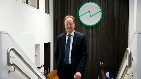 Skatteutvalgsleder Hans Henrik Scheel innrømmer at aksjene på hjemmebane har hatt en litt svak kursutvikling i det siste. Foto: Per Ståle Bugjerd