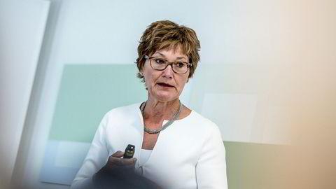Olaug Svarva legger nok et styreoppdrag til listen over sine engasjementer etter at hun ga seg som sjef for Folketrygdfondet. Foto: Gunnar Blöndal