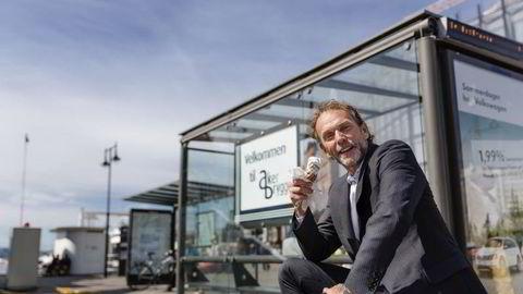 Sjeføkonom Harald Magnus Andreassen i Swedbank. Foto: Per Thrana