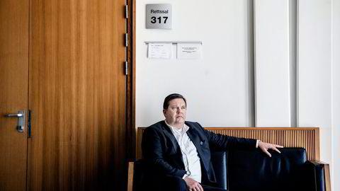 Jan Vestrum anker dommen han fikk av Oslo tingrett fredag.                    Foto: Fredrik Bjerknes