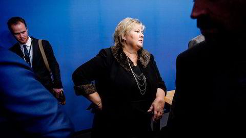 Statsminister Erna Solberg skal få råd om nordområdene. Foto: Gorm K. Gaare