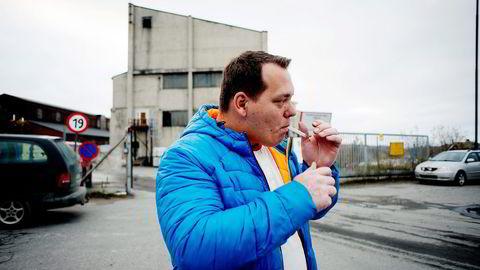 Hovedtillitsvalgt Henning Bråten (bildet) er lettet over at investor Felix H. Tschudi kjøper virksomheten i Sydvaranger Gruve.                    Foto: Mikaela Berg