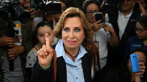 Sandra Torres ligger foreløpig best an til å bli Guatemalas nye president etter søndagens valg.