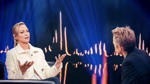 Fredrik Skavlan åpnet med den amerikanske skuespilleren Uma Thurman, men det var ikke nok til å fange tv-seerne.