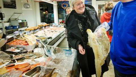 Trålrederne er godt fornøyde fiskeriminister Elisabeth Aspakers stortingsmelding om sjømatindustrien, men mange er opprørte. Foto: Lars Åke Andersen