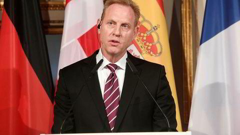 Den amerikanske fungerende forsvarsministeren Patrick Shanahan.