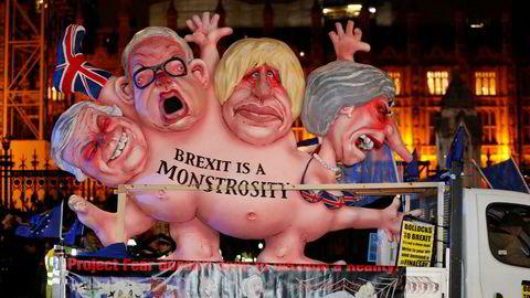 I slutten av mars forlater Storbritannia etter planen EU. Det er reell usikkerhet knyttet til om britenes parlament vil vedta en overgangsavtale, eller om det i stedet blir en «hard» brexit.