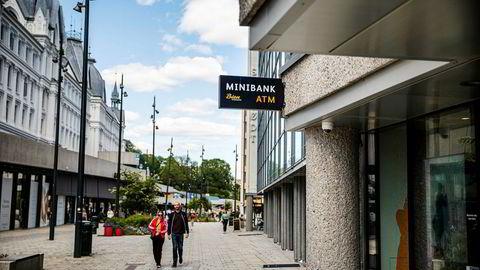 Bien sparebank har ifølge Finanstilsynet begått brudd på hvitvaskingsloven. Her fra sparebanken sine lokaler i Dronning Mauds gate 11.