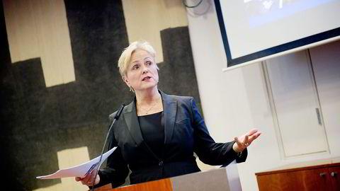 Kulturminister Thorhild Widvey (H). Foto: Thomas Haugersveen