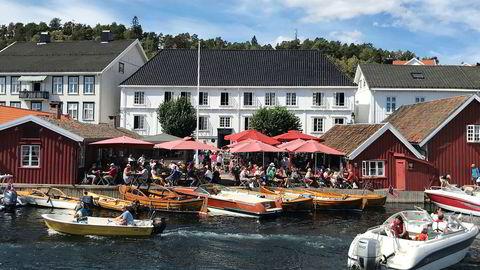 Tollboden Hotel i Kragerø.