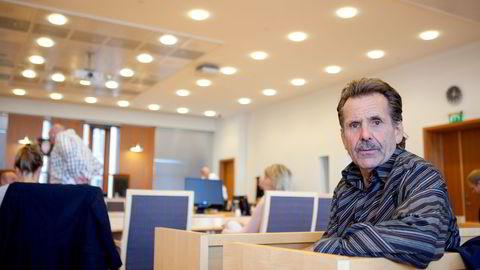 VARSLEREN. Mangeårig busselektriker Jan Erik Skog (69) varslet om kritikkverdige forhold i Unibuss. Det hele med risiko for å miste jobben. Foto: Javad Parsa