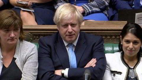 Heller ikke på mandag klarte Boris Johnson å få nok støtte i Underhuset til å skrive ut nyvalg.
