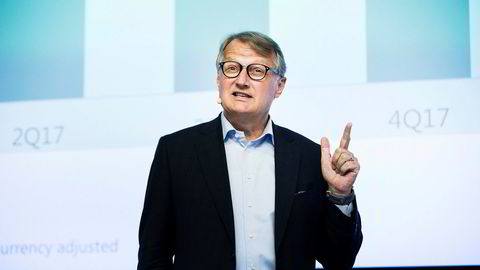 Storbanken Morgan Stanley skriver i en fersk rapport om tre grunner til å kjøpe aksjer i DNB. Her DNBs konsernsjef Rune Bjerke.