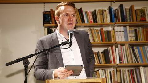 Bernhard Ellefsen. Foto: Heiko Junge /
