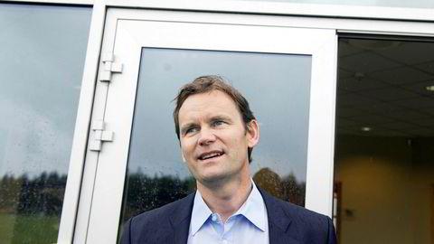 – Det er to ting jeg aldri kommenterer: Nels aksjekurs og privatøkonomi, sier administrerende direktør Jon André Løkke i Nel.
