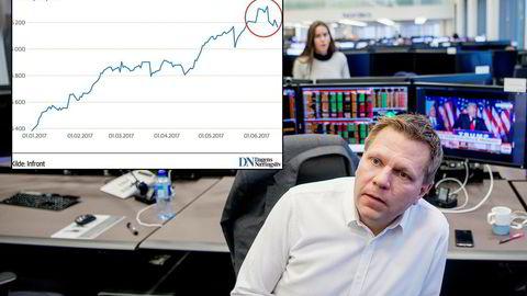 Sjefstrateg Leif-Rune Rein i Nordea Wealth Management har fortsatt stor tro på at teknologiaksjer skal gi videre avkastning.