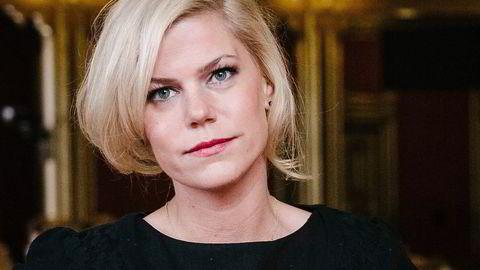 Jette F. Christensen (Ap) i kontroll- og konstitusjonskomiteen på Stortinget. Foto: Fartein Rudjord