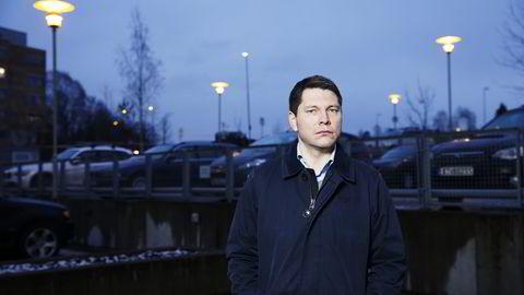 Finansdirektør Sven Børre Larsen i TGS. Foto: Fredrik Bjerknes.