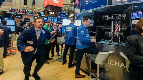 Nøkkelindeksene på Wall Street er ned tirsdag.